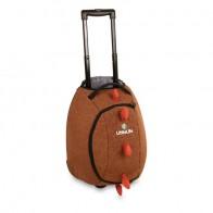 LittleLife vaikiškas lagaminas su ratukais Animal Wheelie Duffle dinozauras