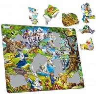 Larsen dėlionė (puzzle) Fantazijų pasaulis