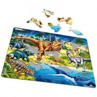 Larsen dėlionė (puzzle) Dinozaurai Maxi