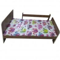 Paaugusio vaiko lova 140 x70 cm su apsauga