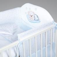 KLUPŠ Patalynė kūdikio lovytei Miegantis meškutis