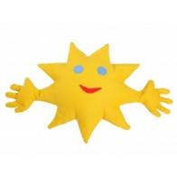 Grikių lukštų pagalvė-saulutė