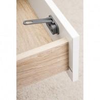 REER DesignLine REER durų ir stalčių užraktas, 2 vnt, antracito spalvos