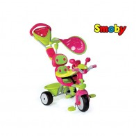 Smoby Baby Driver Comfort GIRL vairuojamas triratukas