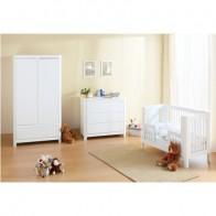 TROLL kūdikio baldų komplektas Sun, baltos spalvos