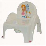 Tega vaikiškas naktipuodis su kėdute Princesė