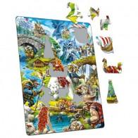 Larsen dėlionė (puzzle) Pasakų miškas Maxi
