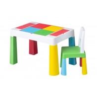 Tega Multifun vaikiškas stalas ir kėdutė