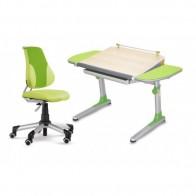 Reguliuojamo aukščio stalas Profi 3 su ergonomine ekoodos kėde