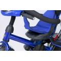 ELGROM TIGER Triratukas su apsukama sėdyne ir pripučiamais ratais BLUE nuotrauka nr.11
