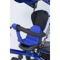 ELGROM TIGER Triratukas su apsukama sėdyne ir pripučiamais ratais BLUE nuotrauka nr.18
