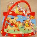 ALEXIS Lavinamasis kilimėlis TK/3400 Meškutis ir zuikutis ant karuselė nuotrauka nr.1