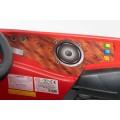 ELGROM 06088 vaikiškas elektromobilis 12Vsu valdymo pulteliu raudonos spalvos nuotrauka nr.12