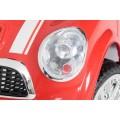 ELGROM 06088 vaikiškas elektromobilis 12Vsu valdymo pulteliu raudonos spalvos nuotrauka nr.5
