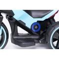 PROGRESJA SW-0198A Vaikiškas elektrinis motociklas 6V mėlynas nuotrauka nr.11