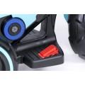 PROGRESJA SW-0198A Vaikiškas elektrinis motociklas 6V mėlynas nuotrauka nr.13