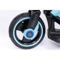 PROGRESJA SW-0198A Vaikiškas elektrinis motociklas 6V mėlynas nuotrauka nr.9