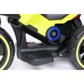 PROGRESJA SW-0198A Vaikiškas elektrinis motociklas 6V žalias nuotrauka nr.3