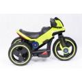 PROGRESJA SW-0198A Vaikiškas elektrinis motociklas 6V žalias nuotrauka nr.7