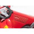 ELGROM 802 Vaikiškas elektromobilis.12 V raudonos spalvos nuotrauka nr.20