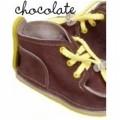 GUCIO vaikiški batukai, mažom skylėm-Šokolado spalvos