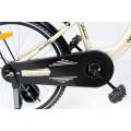 """ELGROM 2001 vaikiškas dviratis TOMABIKE PLAT. 20""""GOLD/WHITE nuotrauka nr.10"""