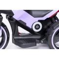 PROGRESJA SW-0198A Vaikiškas elektrinis motociklas 6V violetinis nuotrauka nr.11