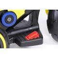 PROGRESJA SW-0198A Vaikiškas elektrinis motociklas 6V geltonas nuotrauka nr.13