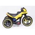 PROGRESJA SW-0198A Vaikiškas elektrinis motociklas 6V geltonas nuotrauka nr.7