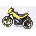 PROGRESJA SW-0198A Vaikiškas elektrinis motociklas 6V geltonas nuotrauka nr.8