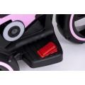 PROGRESJA SW-0198A Vaikiškas elektrinis motociklas 6V rožinis nuotrauka nr.12