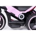 PROGRESJA SW-0198A Vaikiškas elektrinis motociklas 6V rožinis nuotrauka nr.10