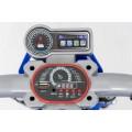 AS 3196 vaikiškas elektromobilis MOTOR mėlynos spalvos  nuotrauka nr.12