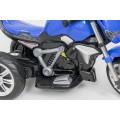 AS 3196 vaikiškas elektromobilis MOTOR mėlynos spalvos  nuotrauka nr.9