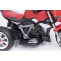 AS 3196 vaikiškas elektromobilis MOTOR raudonos spalvos  nuotrauka nr.9