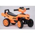 AS paspirtukas - mašinytė Z05 oranžinės spalvos nuotrauka nr.2