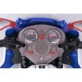 ALEXIS SKC-KB00101 vaikiškas elektrinis motociklas 6V 4,5A mėlynas nuotrauka nr.16