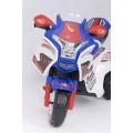 ALEXIS SKC-KB00101 vaikiškas elektrinis motociklas 6V 4,5A mėlynas nuotrauka nr.4