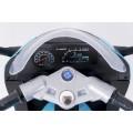 AS 9909 vaikiškas elektrinis motociklas 6V 4,5A mėlynas nuotrauka nr.15
