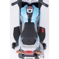 AS 9909 vaikiškas elektrinis motociklas 6V 4,5A mėlynas nuotrauka nr.18