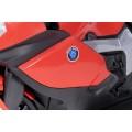 AS 9909 vaikiškas elektrinis motociklas 6V 4,5A raudonas nuotrauka nr.11