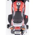 AS 9909 vaikiškas elektrinis motociklas 6V 4,5A raudonas nuotrauka nr.18