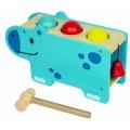 Beleduc lavinamasis žaislas - medinis Smagusis begemotas (18003)