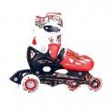 837003 Riedučiai dydis 27-30 raudonos spalvos nuotrauka nr.1