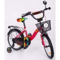 """ELGROM 1601 Vaikškas dviratis TOMABIKE Exclusive 16"""" raudonas nuotrauka nr.2"""