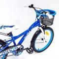 Vaikiškas dviratis 4Kids Camo Boy  mėlynas