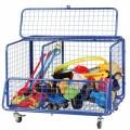 Beleduc priemonė - Lauko žaislų saugojimo konteineris (68041)
