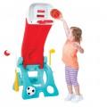 Fisher Price žaidimų aikštelė - krepšinio stovas - čiuožykla 6 in 1