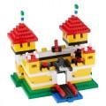 Q-Bricks Nuotykių rinkinys + Pilis, 651 vnt.