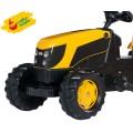 Rolly Toys JCB vaikiškas traktorius su priekaba